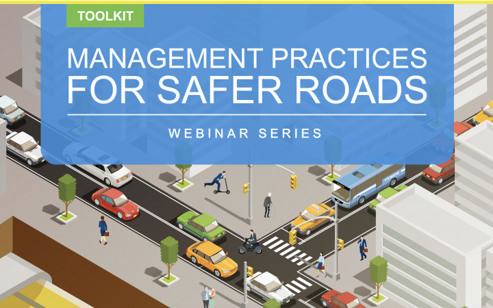 Banner Webinar Series on Management Practices for Safer Roads