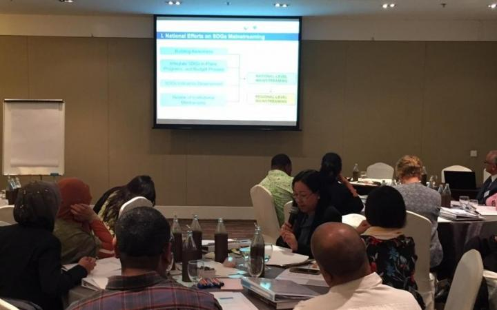 "26 - 27 October 2016: UNDP-UNITAR Regional Training Workshop ""Developing National Evaluation Capacities to Support the Implementation of the 2030 Agenda"", Bangkok, Thailand"