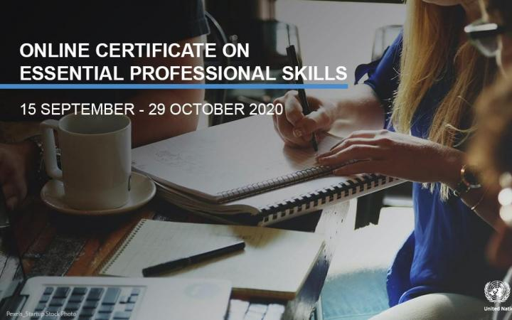 Online Certificate on Essential Professional Skills