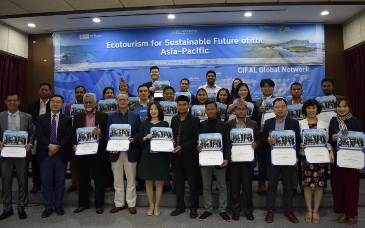 Workshop Ecotourism for a Sustainable Future of Asia-Pacific Certificate