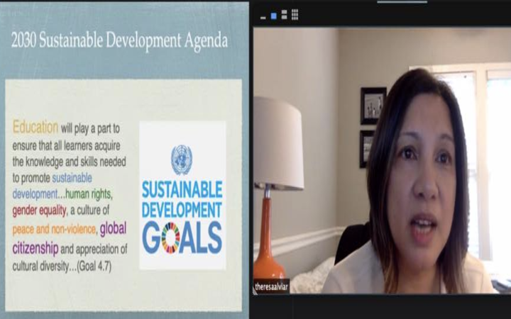Speaker at Sustainability and Human Rights Virtual Seminar