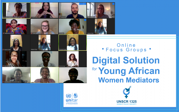 Digital Solution for Young African Women Mediators