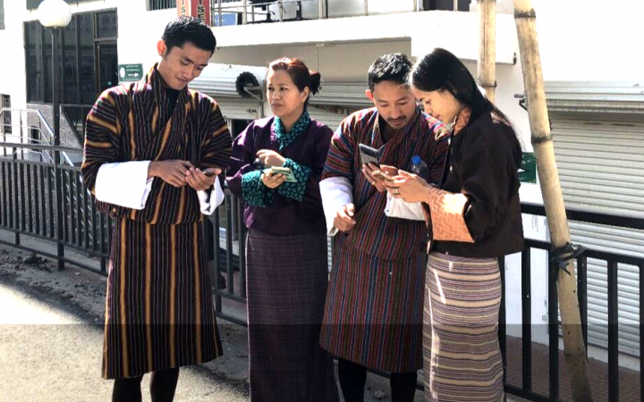 Photo 1: Participants for the UNITAR-UNOSAT to Enhance the Evidence-based Decision Making in Bhutan