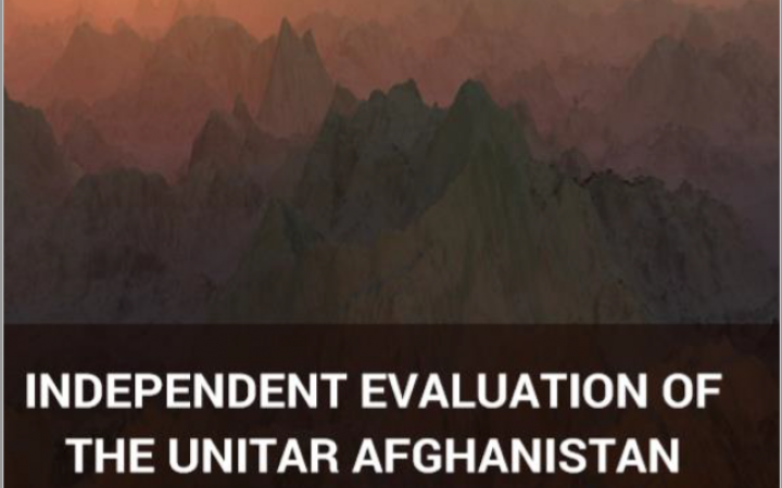Independent Evaluation of the Afghanistan Fellowship Programme