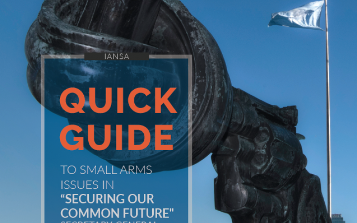 "Quick Guide to Small Arms Issues in ""Securing our Common Future"" - English"