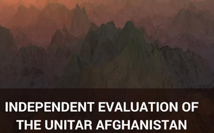 Independent Evaluation of the UNITAR Afghanistan Fellowship Programme