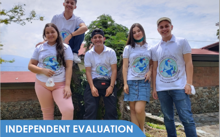 "Independent Evaluation of the ""Youth-led Peace and Reconciliation in Colombia: A Transformational Approach"" project"
