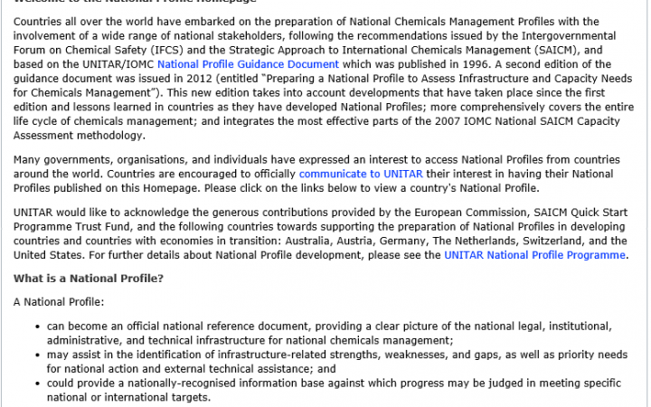 national profile