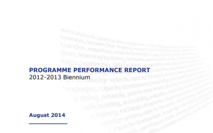 Report For the Biennium 2012-2013