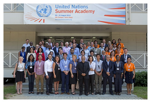 UN Summer Academy group photo