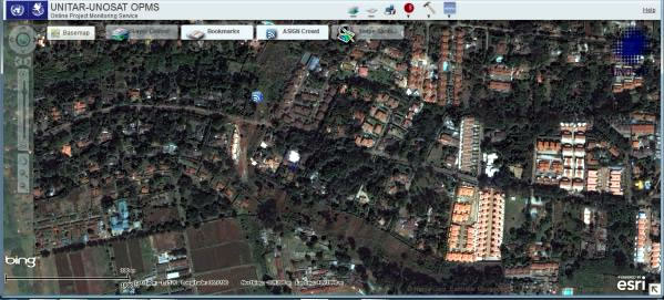 UNOSAT satellite analysis tool photo