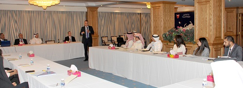 The Delegation of the Kingdom of Bahrain workshop