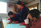 Bhutanese Children on a Mission to Lighten their Load on the Planet