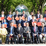 Graduation Ceremony For Executive Master Degree in Development Policies and Practices