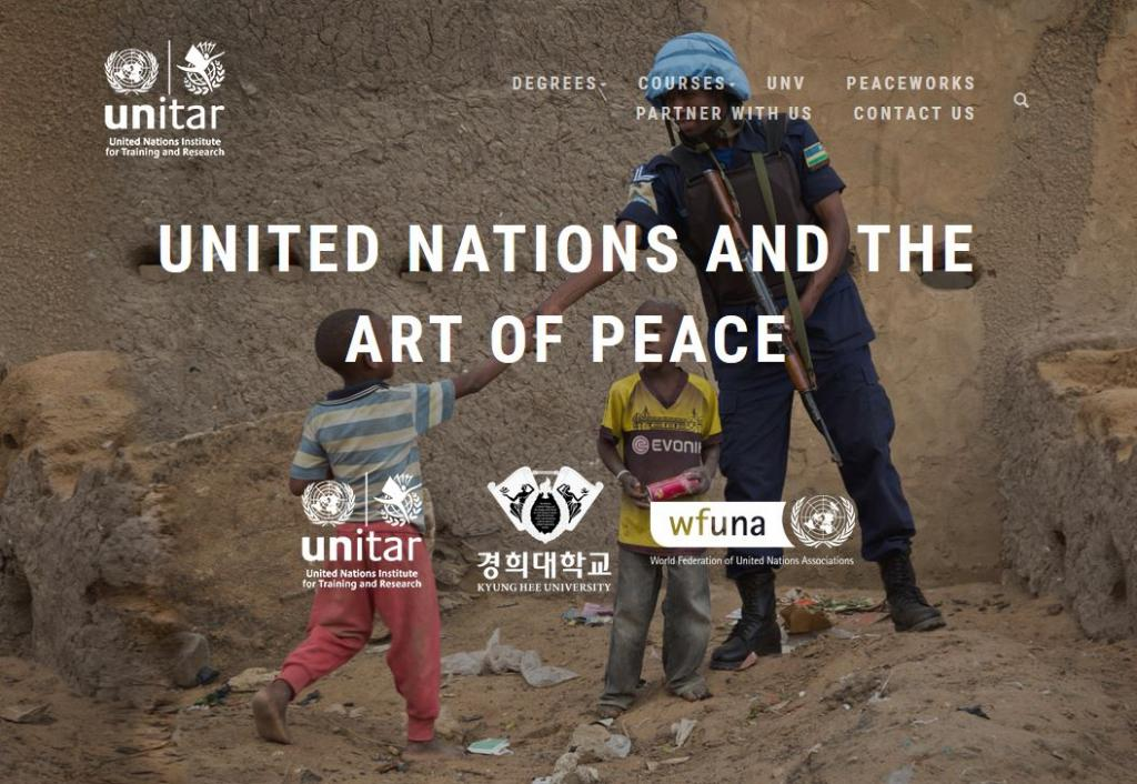 Master Degree in the United Nations and the Art of Peace