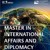 New On-line Master in International Affairs and Diplomacy