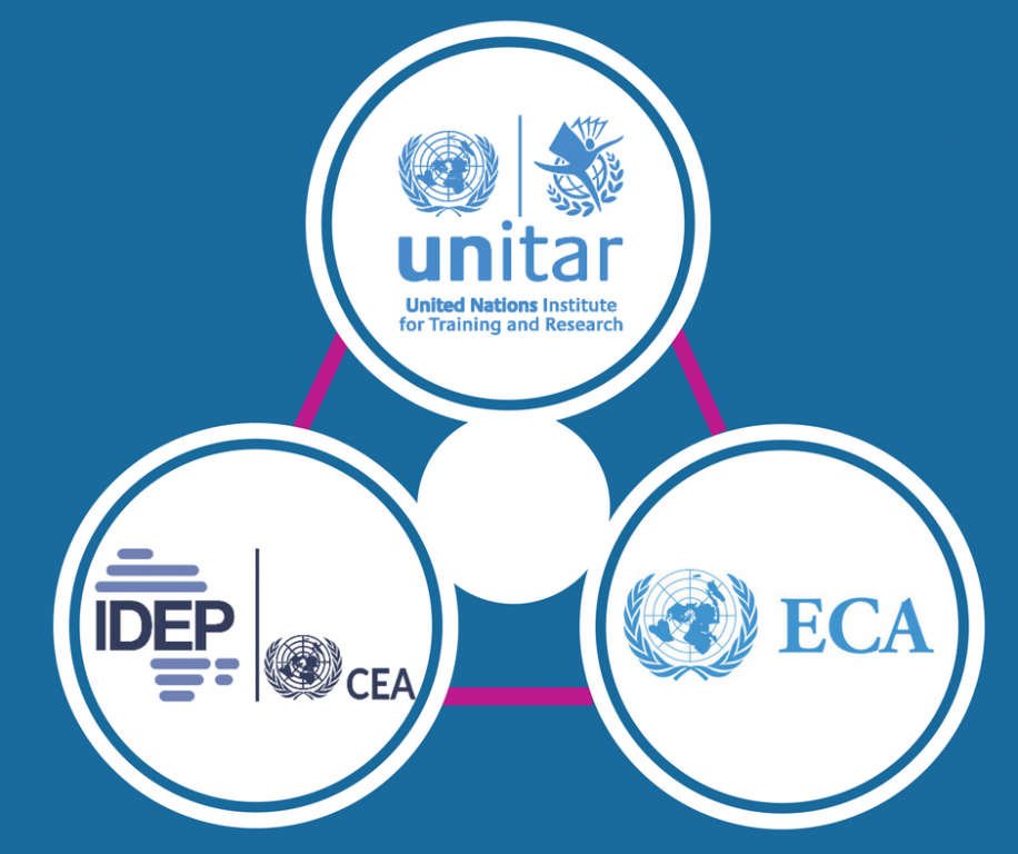 UNITAR assists UN ECA/IDEP in developing and delivering online training programmes for African countries on economic development
