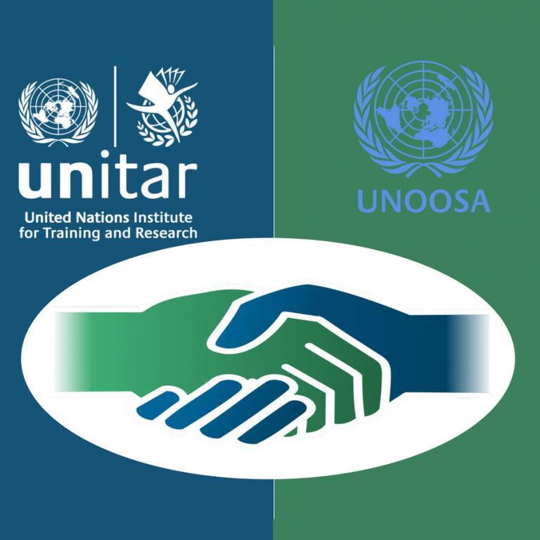 UNOOSA and UNITAR  collaboration