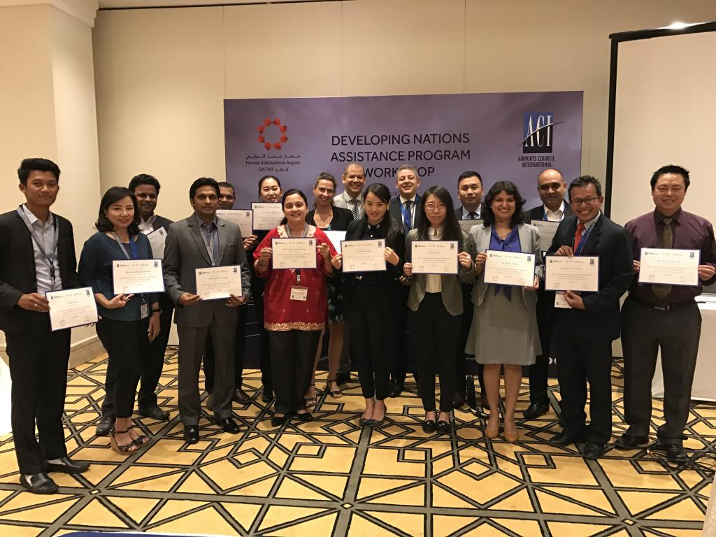 participants of the workshop on Aifport Air Service Development
