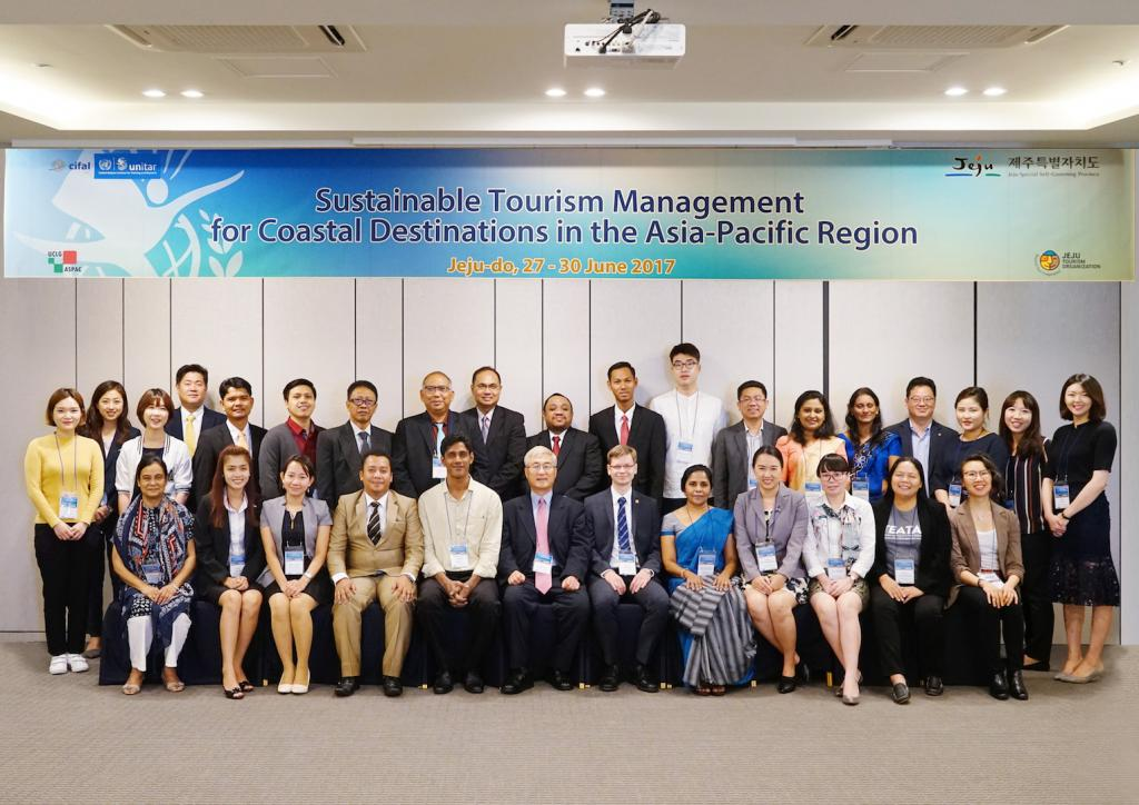 Participants of the Workshop Sustainable Tourism Management in Coastal Destinations of Asia-Pacific