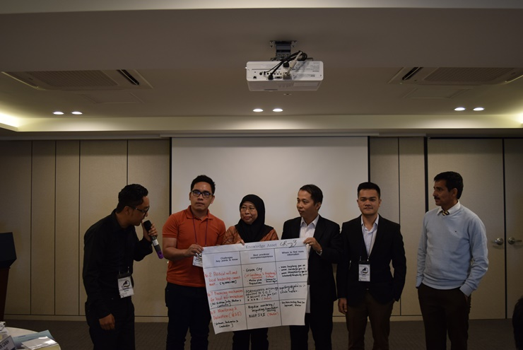 Presentations by Participants of the Green Policy and Management Workshop