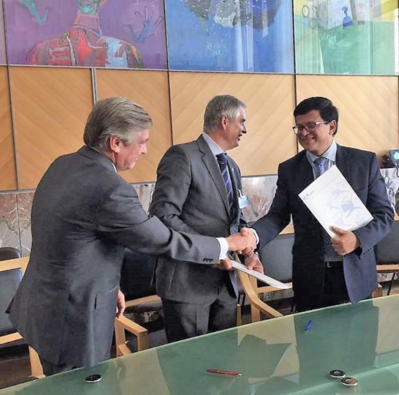 UNITAR and RACE signed a collaborative agreement
