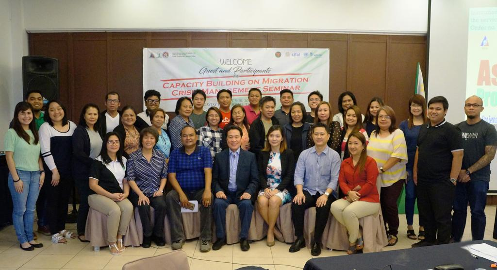 Migration Crisis Management Workshop Participants