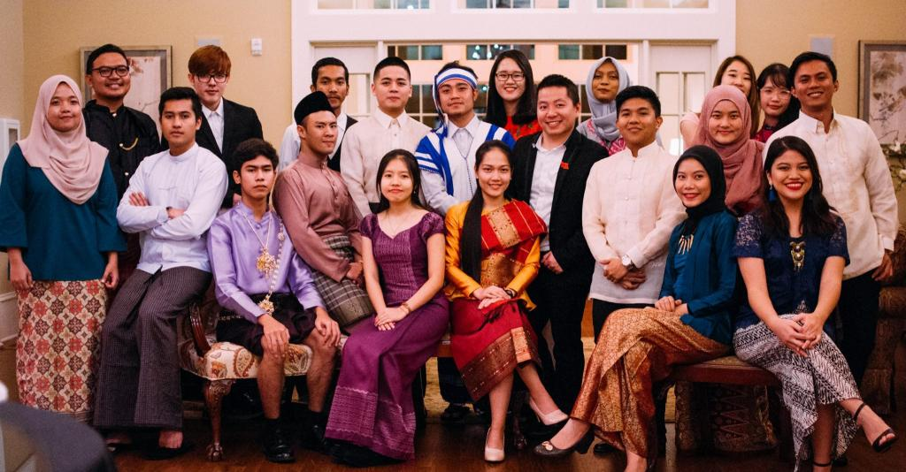 Students Participating in the Young Southeast Asian Leaders Initiative (YSEALI)