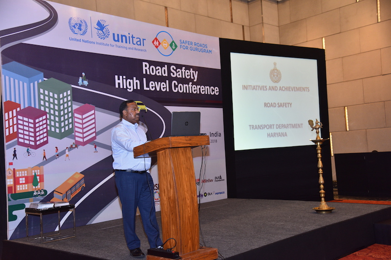 Mr. Dhanpat Singh, Additional Chief Secretary of the State of Haryana Transport Department