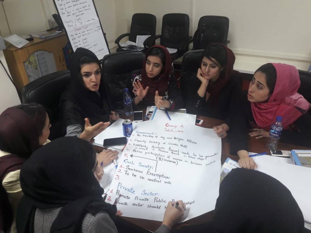 UNITAR Women's Leadership Programme for Afghanistan - Group Work
