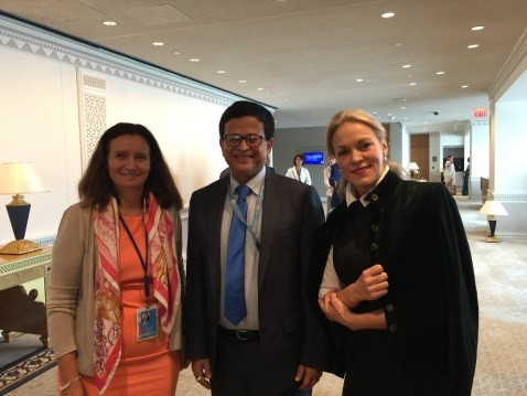 UNITAR Executive Director attends 72nd Session of the General Assembly