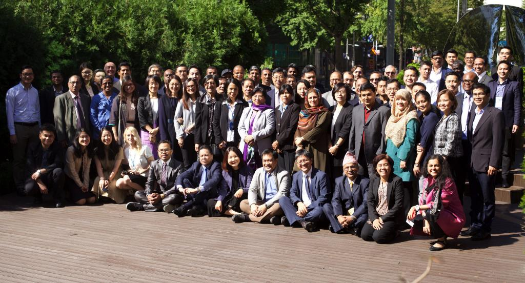 Participants of NAP Regional Training Workshop for Asia 3