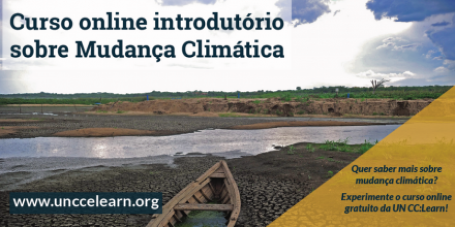 Introductory e-Course on Climate Change in Portuguese