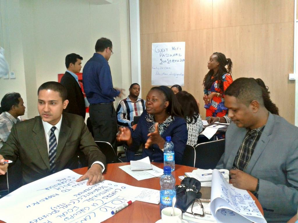 Participants identifies the right steps to take for an efficient and effective preparation for the negotiations
