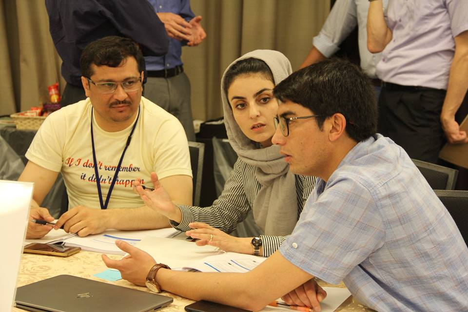 Afghanistan Fellowship Programme Workshop III Groupwork