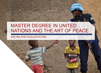 Master in the United Nations and the Art of Peace