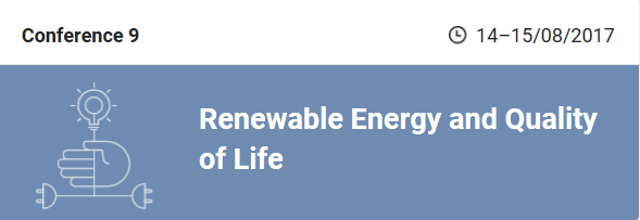 Renewable Energy and Quality of LIfe