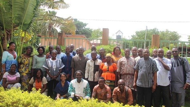 Participants in the National Validation Workshop in Ouagadougou on 22 June 2018