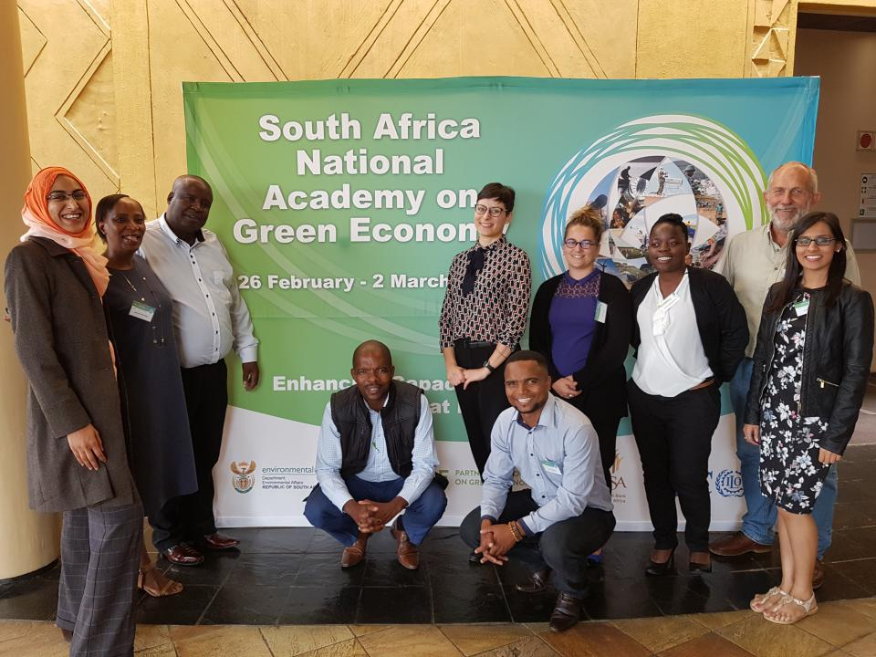 South Africa's National Academy on Green Economy Fosters Change