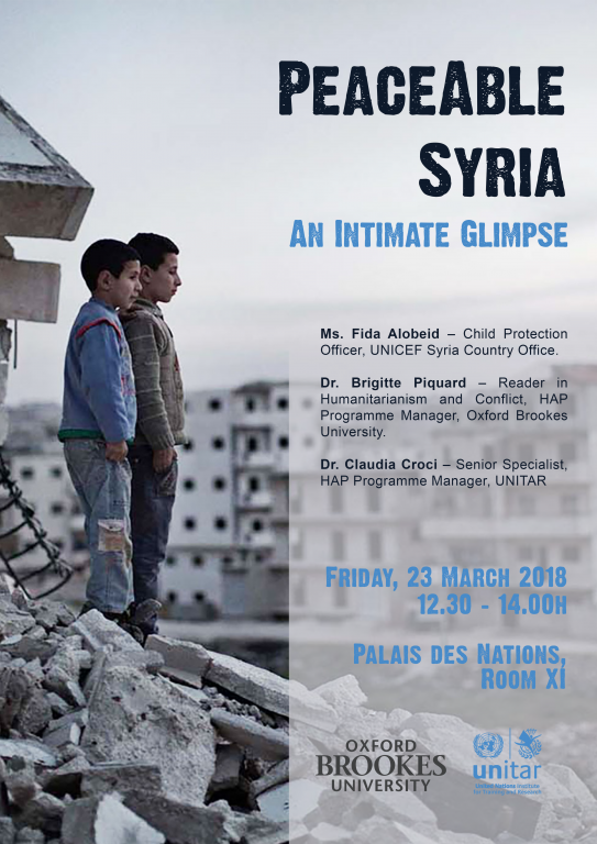 PeaceAble Syria: An Intimate Glimpse
