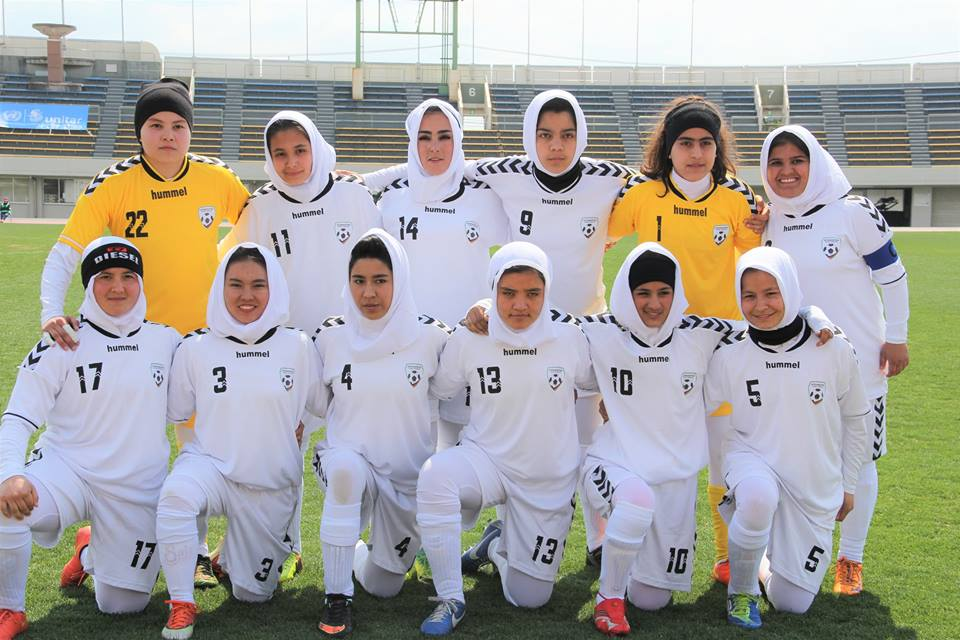 Afghanistan U-18 Women's Football Team