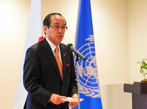 Mayor of Hiroshima, Kazumi Matsui