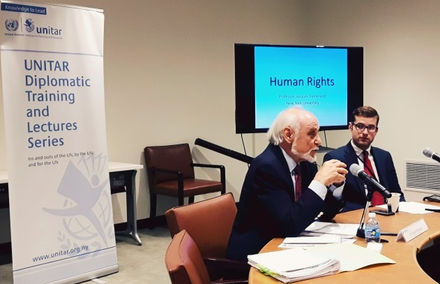 "UNITAR Organizes a Workshop on ""Human Rights and the SDGs"""