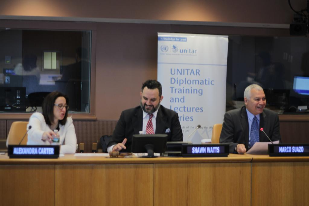 UNITAR Delivers Course on Conflict Resolution as a Tool Against Poverty