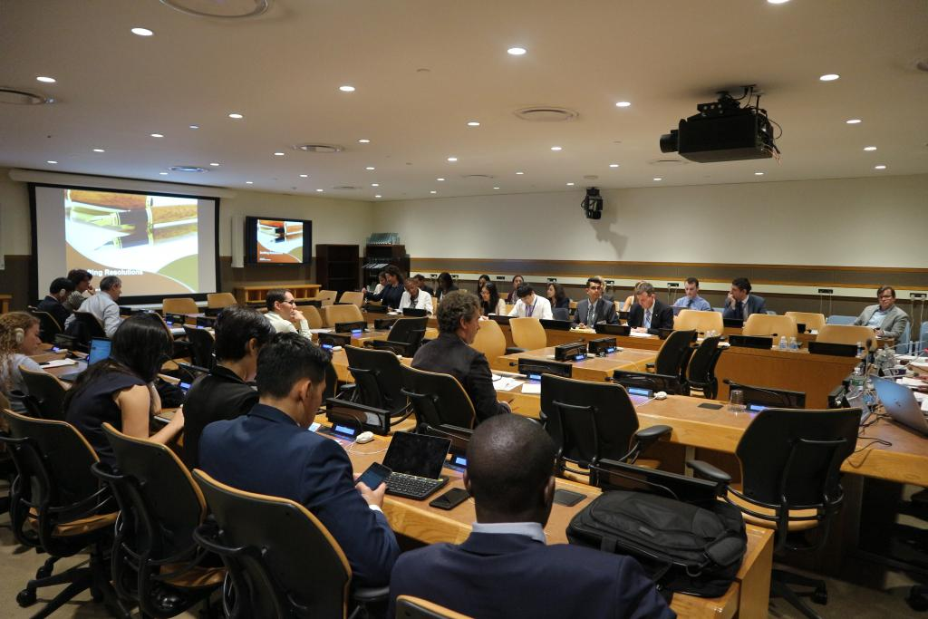 UNITAR Concludes Course for New Delegates on the Fifth Committee