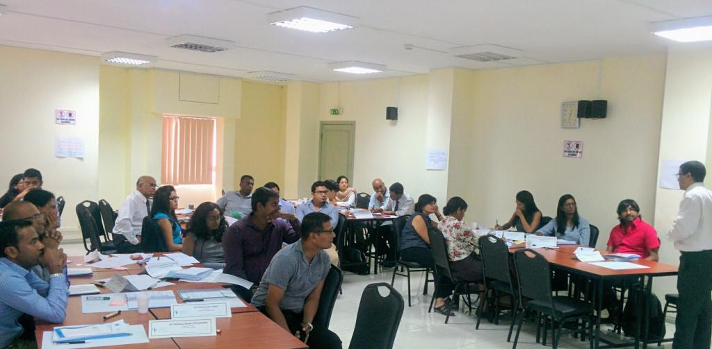 Raising Awareness and Building Capacities in Mauritius - participants