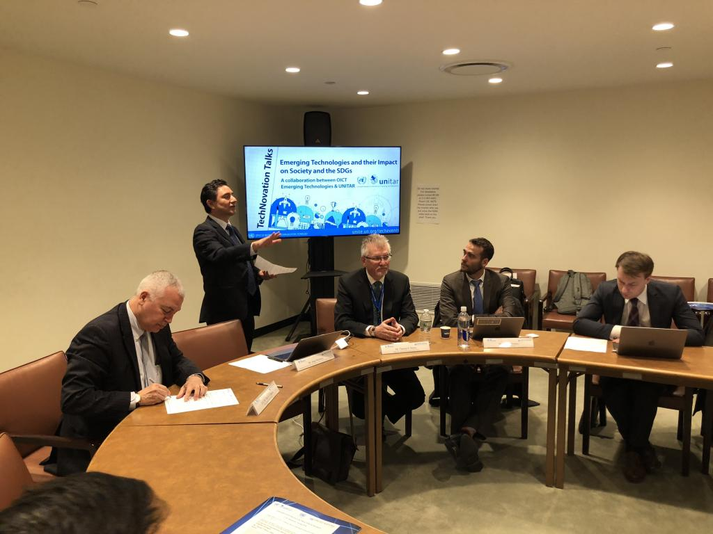 UNITAR Hosts Seminar on Cyberspace and Cybersecurity Policy