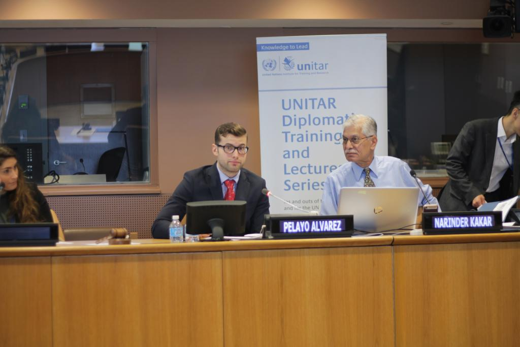 UNITAR organizes course on climate chnage for sustainable development