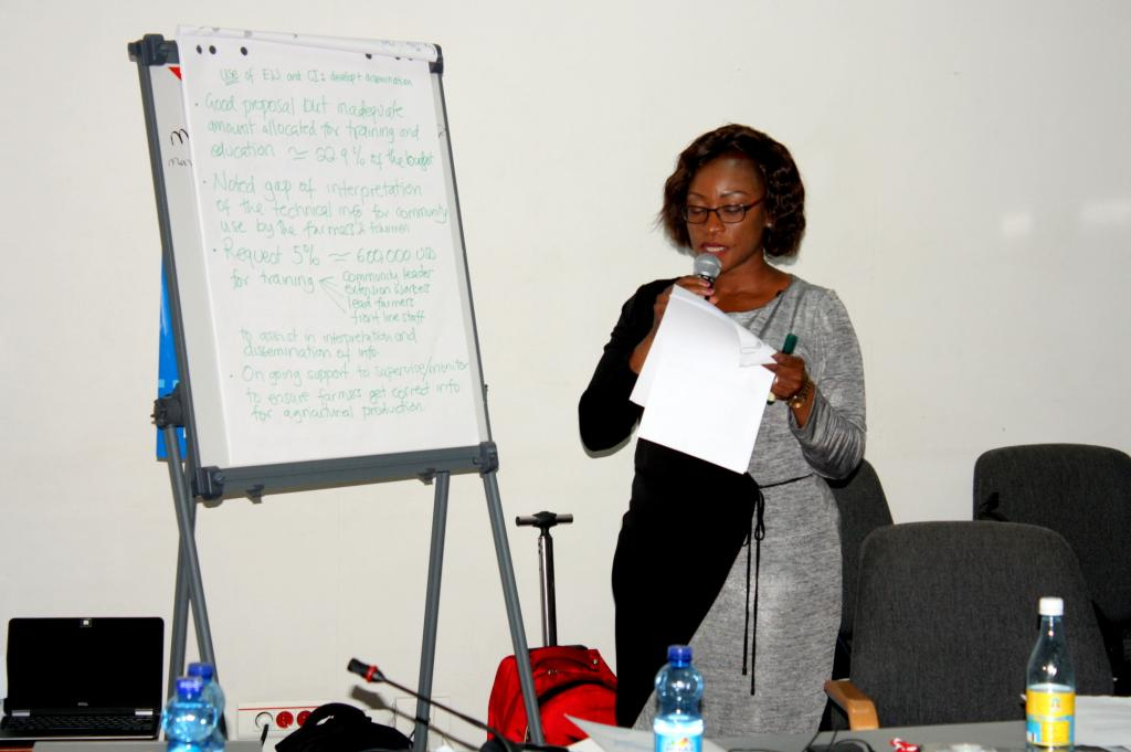 Ms. Shamiso Najira, Climate Change Learning Ambassador from Malawi
