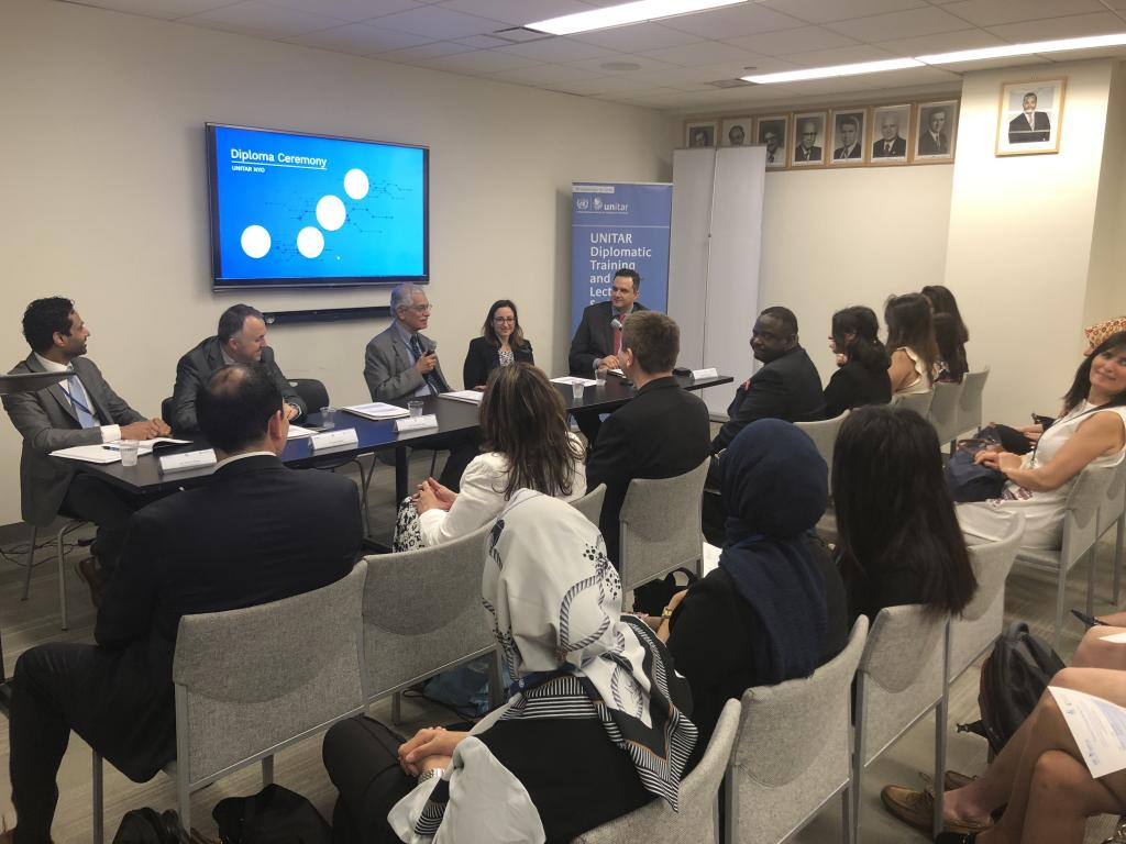 UNITAR Hosts Diploma Ceremony for Spring 2018 Programmes